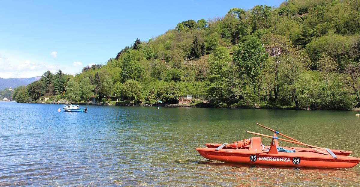 Limpide e pulite: le acque del Lago d'Orta